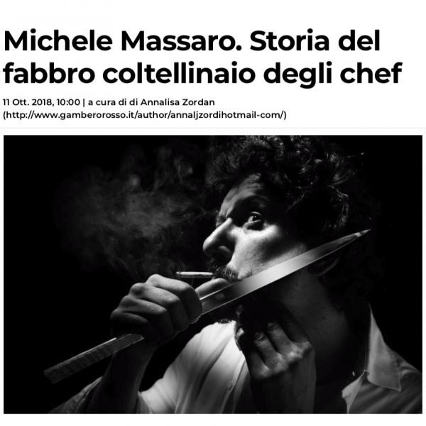 Michele Massaro - Gambero Rosso