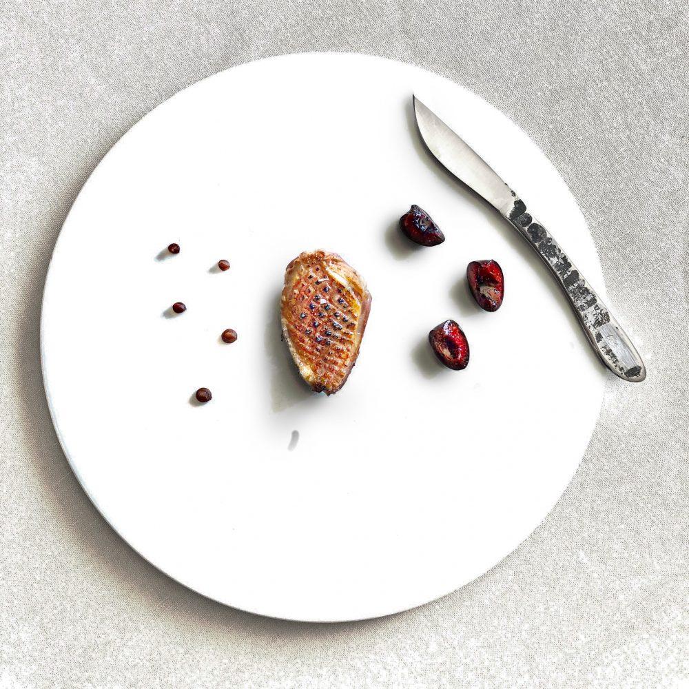 """""""the pigeon in the cherry tree"""" Ristorante da Christian e Manuel chefs Christian e Manuel Costardi 1 michelin star"""